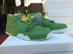 best loved 85afd 83bdd NIKE AIR TRAINER 1 MID SP FRAGMENT WHITE CHLOROPHYLL 806942 331  200
