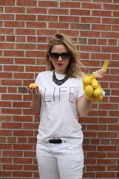 """When life hands you lemons…"""