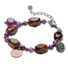 Just found this Coin Charm Bracelet For Women - Pinecone Copper Coin Bracelet -- Orvis on Orvis.com!