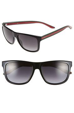 bb51ad4948e Gucci 57mm Sunglasses Ray Bans