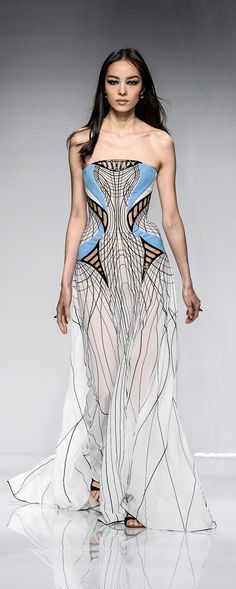 Atelier Versace Spring-summer 2016 - Couture - http://www.orientpalms.com/Atelier-Versace-5987