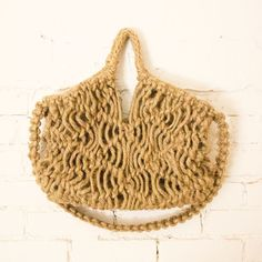 Macrame Market Bag at General Store