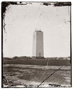 Washington Monument Stood Unfinished for 25 years. Lack Of $$$$.