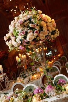 Fairytale wedding tables