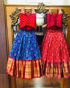 Bangalore Lehenga Shopping Guide includes budget lehenga stores, designers, saree labels along with christian wedding gowns list. Girls Frock Design, Kids Frocks Design, Baby Frocks Designs, Baby Girl Lehenga, Kids Lehenga, Kids Dress Wear, Kids Gown, Kids Wear, Frocks For Girls