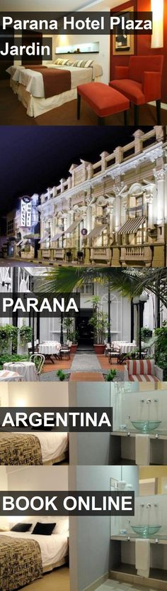 Hotel Parana Hotel Plaza Jardin in Parana, Argentina. For more information, photos, reviews and best prices please follow the link. #Argentina #Parana #ParanaHotelPlazaJardin #hotel #travel #vacation