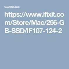 https://www.ifixit.com/Store/Mac/256-GB-SSD/IF107-124-2