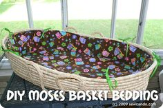 Pin It I had a Moses basket from when my 3 yr old was a newborn which had been really handy as a light & portable alternative to clunky...