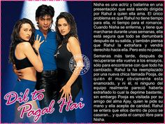 Cine Bollywood Colombia: DIL TO PAGAL HAI