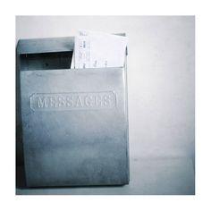 Boîte à courrier Messages