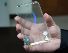 Polytron Transparent Smartphone Prototype : 1st Hands On (Video)