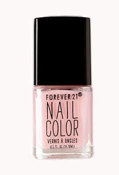 Pink Chiffon Nail Polish | FOREVER21 - 1000073898