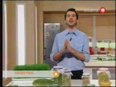 Pablito Martín en Utilísima. Receta: Germinados de alfalfa, lentejas, quínoa y mucho más. - YouTube