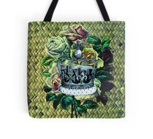"""Vintage Dreams"" -  Royal Crown & Roses Tote Bag"