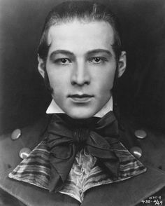 """Rodolfo Alfonso Raffaello Pierre Filibert Guglielmi di Valentina d'Antonguolla, professionally known as Rudolph Valentino (May 6, 1895 – August 23, 1926), was an Italian actor who starred in several well-known silent films including The Four Horsemen of the Apocalypse, The Sheik, Blood and Sand, The Eagle, and The Son of the Sheik. An early pop icon, a sex symbol of the 1920s, he was known as the """"Latin Lover"""" or simply as """"Valentino""""."""
