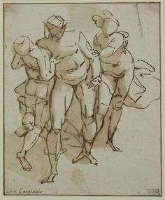 Old master drawings, construction, synthetic form and Glenn Vilppu. Gesture Drawing, Anatomy Drawing, Life Drawing, Drawing Sketches, Cool Drawings, Drawing Studies, Art Studies, Figure Painting, Painting & Drawing