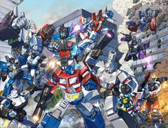When Robots attack.. by Dan-the-artguy.deviantart.com on @DeviantArt