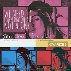"@rcklessbabe_cks I have had a nasty cold and haven't been able to post but I wanted to get this out. ""We need to learn that we are not alone"" #vape #vapor #vaping #vapeart #vapeyou #vapecommunity #vapeon #vapestagram #vapenation #vapefamous #vapelife #vapedaily #vaperazzi #photography #photoofday #ig_shutterbugs #instamood #igmasters #photobomb #photoftheday #onlineart #creative #vapesirens #photoart #hsdailyfeature #theimaged #creativecommune #killeverygram #vapepics #iggood (view on…"
