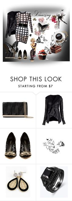 """Amazing"" by sarahguo ❤ liked on Polyvore featuring Diane Von Furstenberg, Rick Owens, Balmain, Dolce&Gabbana and Champion"