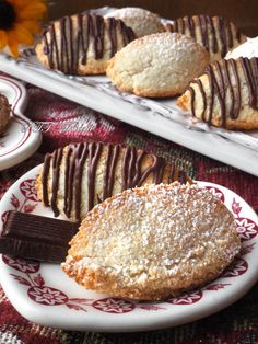 Egg White Recipes, Italian Cookies, Food Obsession, Nutella, Low Carb, Gluten Free, Sweets, Chocolate, Breakfast