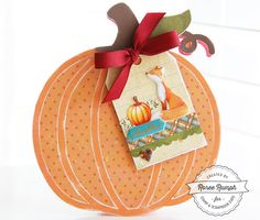 Thankful card by Roree Rumph - Latest & Greatest: Card Making with Paper House Productions - Stamp & Scrapbook EXPO