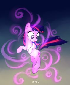 My Little Pony Friendship is Magic. Twilight Sparkle. Element of Magic. :D