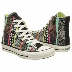 funky Converse high tops ♥