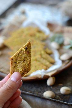 Biscuits apéritifs aux pistaches #recette #apéritif #apero #biscuit #pistache