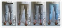 Miss P: Trousertastic - Trouser Refashioning Tips wider to skinny or skinnier jeans remake up-cycle Sewing Blogs, Sewing Tutorials, Sewing Tips, Sewing Ideas, Diy Clothing, Clothing Patterns, Jeans Refashion, New Fashion, Womens Fashion
