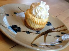 Cheesecake Cupcakes--and totally KETO!  Seriously.  Only 1g net carb per cupcake.