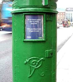 Posted by OldDublinTown. Victorian Postbox at Stephen's Green