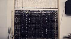 TELÓ DE PEDRERIA NEGRE http://jordipaulsart.wordpress.com/2013/08/05/tel%C2%B7lo-de-pedreria-negre/  #teatro #maquinaria #escenografia #mockup #maqueta