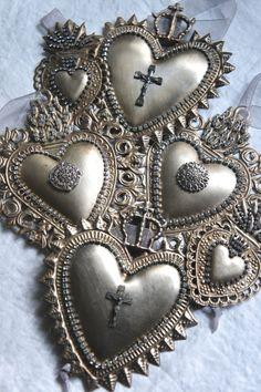 Ornamento de corazones
