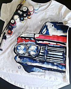 Handpainting, tshirt, textile, painting, art, design, handmade