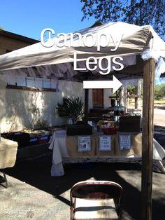 Canopy Legs