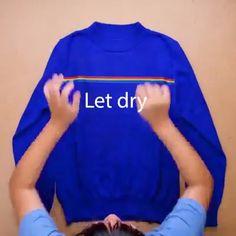 Sewing Lessons, Sewing Hacks, Sewing Tutorials, Sewing Projects, Sewing For Kids, Diy For Kids, Diy Moda, Shirt Hacks, Diy Vetement