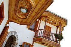 AKYAKA-MUĞLA -MİMAR RUKİYE USLU- Exterior Design, Interior And Exterior, Ottoman, To Go, Villa, House Design, Cabin, Traditional, Country