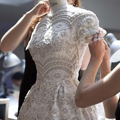 embroidery handmade couture