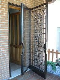 porta ferro battuto e vetro - Cerca con Google | Casa verderame ...