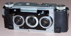 Stereo Camera, Polaroid Camera, Camera Lens, Antique Cameras, Old Cameras, Vintage Cameras, Photo Lens, 3d Photo, Photographic Film