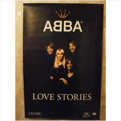 ABBA - ABBA Poster Love Stories shop promo poster The Winner Takes It All
