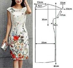 Long Dress Patterns, Dress Sewing Patterns, Clothing Patterns, Pattern Sewing, Mermaid Skirt Pattern, Costura Fashion, Iranian Women Fashion, Petite Dresses, Fashion Sewing
