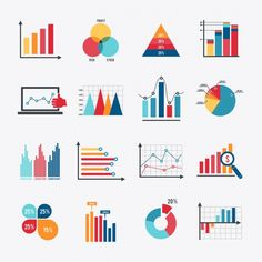 Infographic elements collection Premium Vector Vector Graph, Bar Graphs, Charts And Graphs, Data Dashboard, Dashboard Design, App Ui Design, Vector Design, Information Design, Graph Design