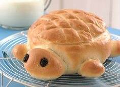 Turtle bread. This would make a great bread bowl for spinach dip.