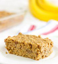 Banana Nut Quinoa Bars - The Wholesome Dish