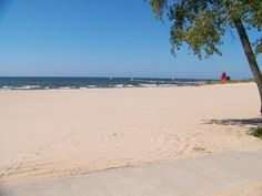 Lake Michigan Vacation? Fresh water beaches.