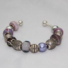 Already Made Pandora Bracelets | Purple Pandora Bracelet