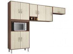 Cozinha Compacta Poliman Móveis Munique - 8 Portas