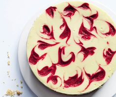 An Almond-Crust Raspberry Cheesecake for National Dessert Day | Yes, it does taste as insanely indulgent as it looks.
