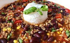 Dania jednogarnkowe - Blog z apetytem Snack Recipes, Snacks, Aga, Chana Masala, Acai Bowl, Chili, Beans, Rice, Dinner